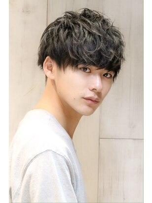 男性 黒髪