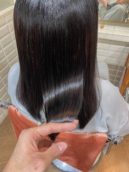 ウィル ボッサ 御茶ノ水 神保町(WILL bossa)の写真/自社開発工程の予防美髪プレミアムコース(話題の酸熱トリートメントコース内)で今までにないうるツヤを♪
