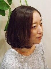 カット+カラー+キューテックトリートメントホームケア1ヶ月¥11000
