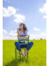 アウラ ヘアアンドビューティー(AURA HAIR & BEAUTY)夏の暑さに負けない可愛さ。ロングスタイル編