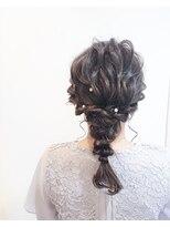 エムズキュラティフ(e'mZ Curatif)emZ Curatif◆山内望未◆結婚式・二次会・お呼ばれヘア