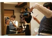 イルトヘアーデザイン(iluto hair design)の雰囲気(ilutoのスタッフです!!アットホームな雰囲気でお出迎えします)