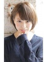 【+~ing】大人可愛い小顔3Dカラー丸みショート【畠山竜哉】