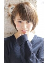 【+~ing】大人可愛い小顔FRENCH short 【畠山竜哉】