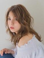 オジコ(ojiko)☆月曜営業☆【ojiko.】大人可愛いゆるふわセミディ