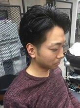 ヘアーティズム ナラマチ(hair-TISM Naramachi)メンズパーマで大人スタイル