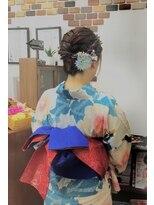 サロンド クラフト(salon de craft)【浴衣】華やかでキュートな浴衣スタイル♪