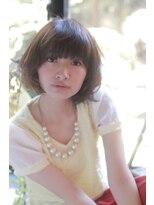 ルカ リノア(Luca lino:a)【大人カワイイ】ゆるふわショートボブ スタイル☆