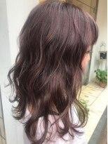 ヴィークス ヘア(vicus hair)ラベンダーピンク×ロブ by 井上瑛絵