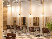 アグ ヘアー プリム 久留米2号店(Agu hair prime)の雰囲気(こだわり抜かれた空間で寛げます。)