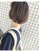 ケンジ 横浜(KENJE)#ソフトな大人っぽいボブ#上品なハイライト#ベージュカラー