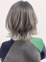 ソース ヘア アトリエ 京橋(Source hair atelier)【SOURCE】ホワイトグレージュ