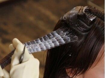 ソワン(Soins)の写真/【すべてのメニューが髪質改善ヘアエステ】カラーやパーマを繰り返すほど髪がキレイに扱いやすくなる☆