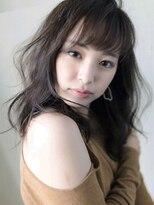 マックスビューティーギンザ(MAXBEAUTY GINZA) バングスナチュラルウェーブセミロング☆銀座/髪質改善