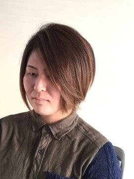 ヘアーカーブ(haircarve)haircarve★マスカットアッシュ・エアリーボブ