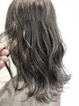 アグヘアー テイスター 保谷店(Agu hair taster)イルミナカラー☆ケアブリーチ×ホワイトグレー