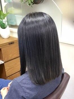 ナカジマ美容室の写真/【アルマダスタイル電子トリートメント正規取扱店】電子レベルで髪の内部へ浸透*自然体&上質なツヤ髪へ◆