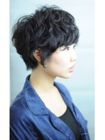 サウンドヘアデザイン(sound hair design) ★soundhairdesign★black mannish short