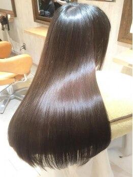 シエル(hair terrace Ciel)の写真/【23時まで営業】最新の≪次世代型髪質改善トリートメント≫導入!今までにないうる艶×高い持続力が叶う♪