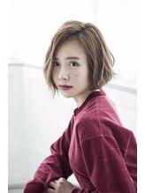 ミエルヘアー 新宿エスト3号店(miel hair)外国人風スタイル03【miel hair 新宿3号店】