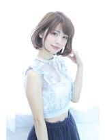 ソース ヘア アトリエ(Source hair atelier)【source】ユルフワマニッシュボブ