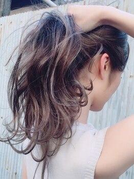 ヴァイナルズミックスプラス(Vinyl's mix+)の写真/【カット+カラー¥7700~】☆Edolカラー(¥9900~)で更なる高発色&色持ちが叶う艶感溢れる美髪にー