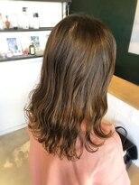 アミィヘアー(Ami Hair)ブラウンベージュ×ロブ