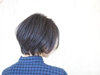 ガビーヘアルーブ(gabi hair LOOB)の写真/ナチュラルでありながらこなれ感の出るスタイルを◇年齢と共に変化する髪や頭皮のお悩みを新しい形で提案…