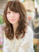 *+COVER HAIR+*…小顔☆バングでロングカールa