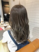 ルルカ ヘアサロン(LuLuca Hair Salon)LuLucaお客様☆スナップ ほんのりオリーブグラデーション