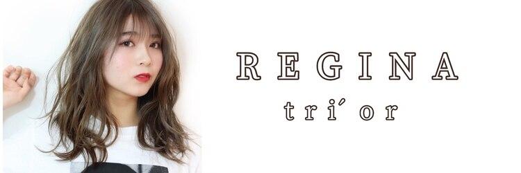 レジーナ トリドール(REGINA Tri'or)のサロンヘッダー