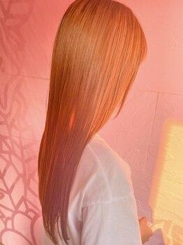 ローランド(Rowland)の写真/【熊本トレンド発信サロン★】Rowlandオリジナルトリートメントをしながらの縮毛矯正で最上級髪質改善を☆