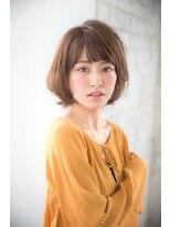 ジョエミバイアンアミ(joemi by Un ami)【joemi】ミルクティーカラー姫カットトップノット(大島幸司)