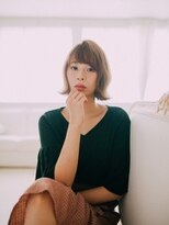 【GrandChariot 笹塚】外ハネガーリーボブ