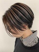 ヘアーアンドカルチャー ティーチ(hair&culture TEACH)ショート×デザインカラー