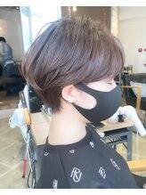 ラボヌールヘアーレーヴ 池袋店(La Bonheur hair reve)reve☆加々美賢育☆耳掛けハンサムショート