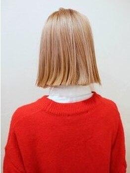 アルティスコ(artisco)の写真/artiscoのカラーは施術後の退色やパサつきが気になる方にもオススメです♪