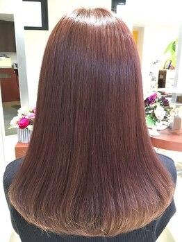 ソワン(Soins)の写真/贅沢な時間をお届けする~Soins~髪が喜ぶ最高のケアなら当店におまかせ!