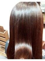 コレット ヘアー 大通(Colette hair)ストレート×shu uemura