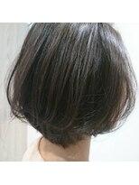 ヘアーエスクールエミュ(hair S. COEUR emu)寒色ブルージュカラー