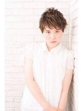 リノ ヘアー デザイン(Lino Hair Design)【佐合が提案】大人可愛い*小頭ベリーショート パーマスタイル