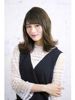 マーブル 河内松原店(Marble)ラフさが可愛い☆重軽とろみセミディ