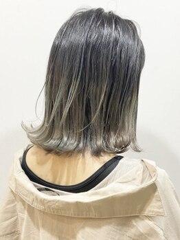 チャーム(CHARM)の写真/イルミナカラ―で透明感のある髪色へ♪トレンドカラーもケアブリーチでダメージレスに◎