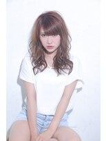 ジーナシンジュク(Zina SHINJYUKU)☆Zina☆エアリーカールのオーシャンベージュ♪