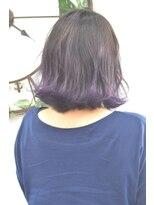 ヘアーサロン エール 原宿(hair salon ailes)(ailes原宿)style327 グラデーションカラー☆大人モーブ