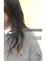 リアン 熊谷本店(Rien)インナーカラー×silver