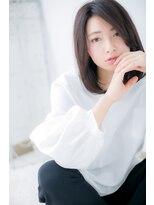 【Lab古河】ノームコア 黒髪が大人な雰囲気!c