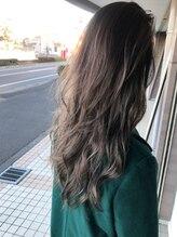 ヘアデザイン グリッター(hair design GLITTER)naturalベージュアッシュ