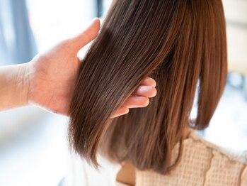 """髪質改善ヘアエステサロン スロウ(SLOW by opsia)の写真/""""ナチュラル可愛い""""トレンドに合わせてstyleを造り上げる★いつでも最先端なあなたを演出致します!"""
