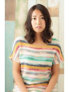 ミンクス シモキタザワ(MINX shimokitazawa)【MINX】ふんわり柔らかでヌケ感を♪大人可愛いラフミディ